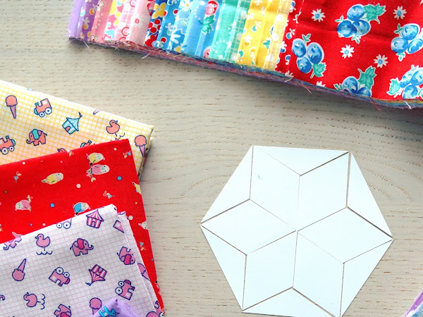 QUILTING: The 100 Day Kaleidoscope Project