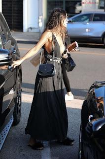 Eiza Gonzalez in Revealing Beautiful Gown Side    CEleBrity.co Exclusive 02