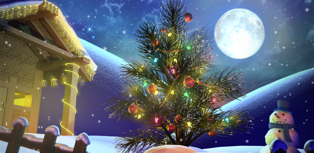 Animation Blog - Liron Aluf: Our New Christmas HD Live Wallpaper