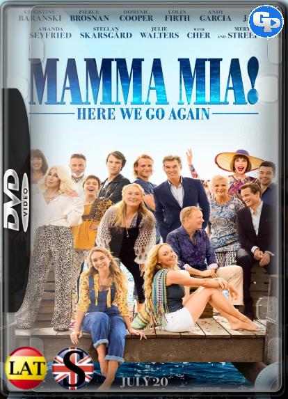 Mamma Mia: Una Y Otra Vez (2018) DVD5 LATINO/INGLES