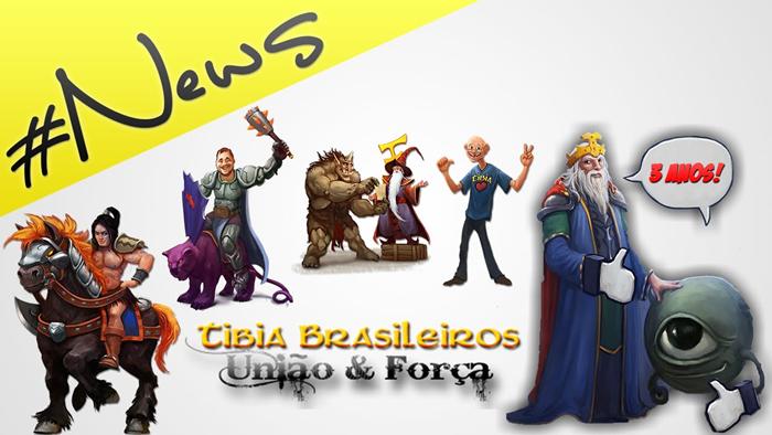 Concurso do 3ºAniversário do TibiaBrasileiros.com!