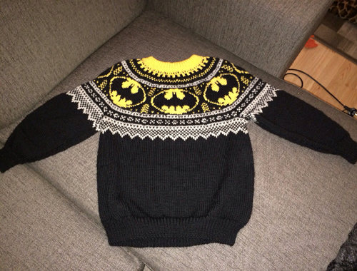 Mini Batman Logo Chart - Free Pattern