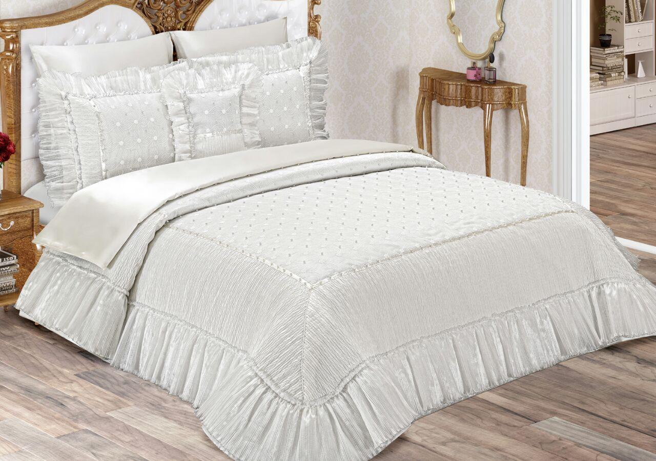 Gonca yatak örtüsü