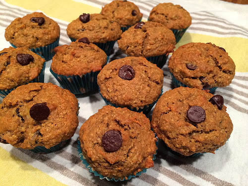 Healthy, but not so healthy oat bran muffin