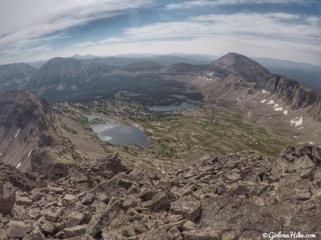 Hiking to Hayden Peak, Uintas