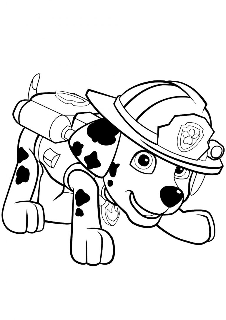 Paw Patrol Ausmalbilder - Paw Patrol zum Ausmalen