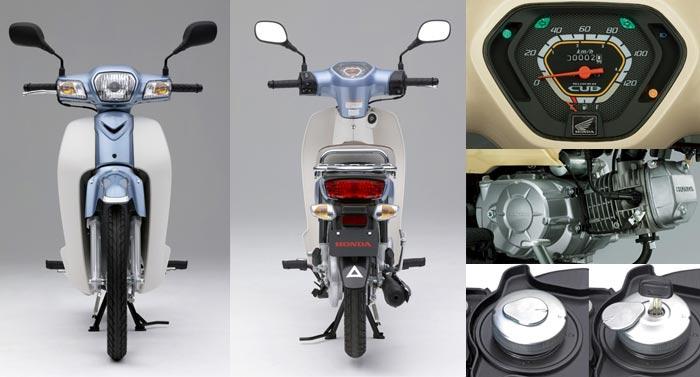 Modifikasi Motor Honda Super Cup 700