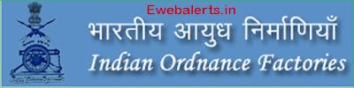Indian Ordnance Factories Recruitment