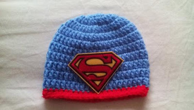 Crochet Superman Hat