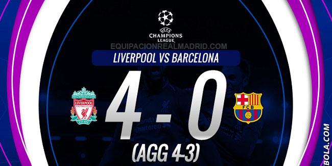 video cuplikan gol liga champions liverpool vs barcelona 9 mei 2019