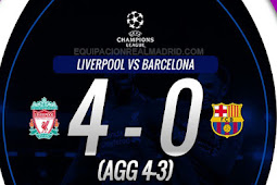 Video Cuplikan Gol Liga Champions Liverpool vs Barcelona 9 Mei 2019