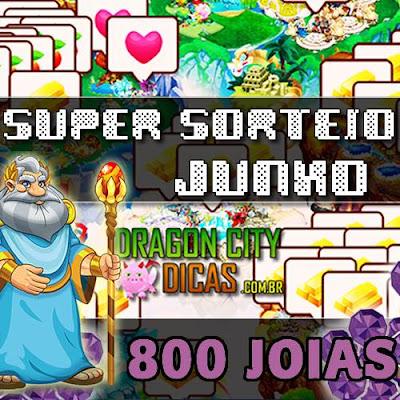 Super Sorteio de 800 Joias Grátis - Junho 2018