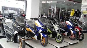 Makin Macho! Yamaha Lexi  Dengan Aksesori Terbaru