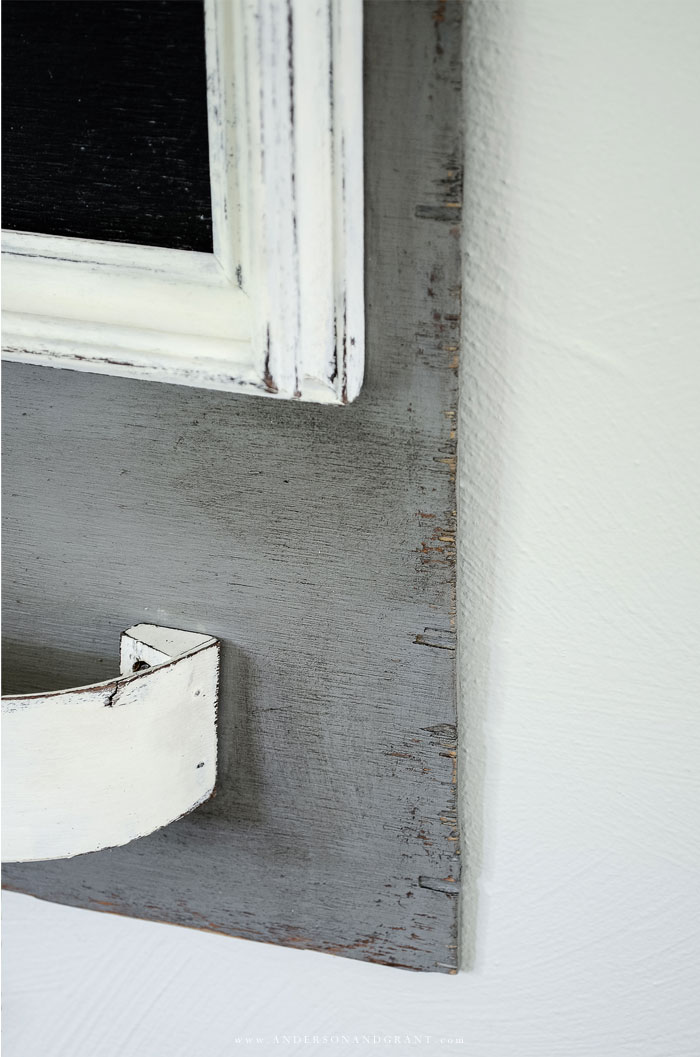 Aged gray wood