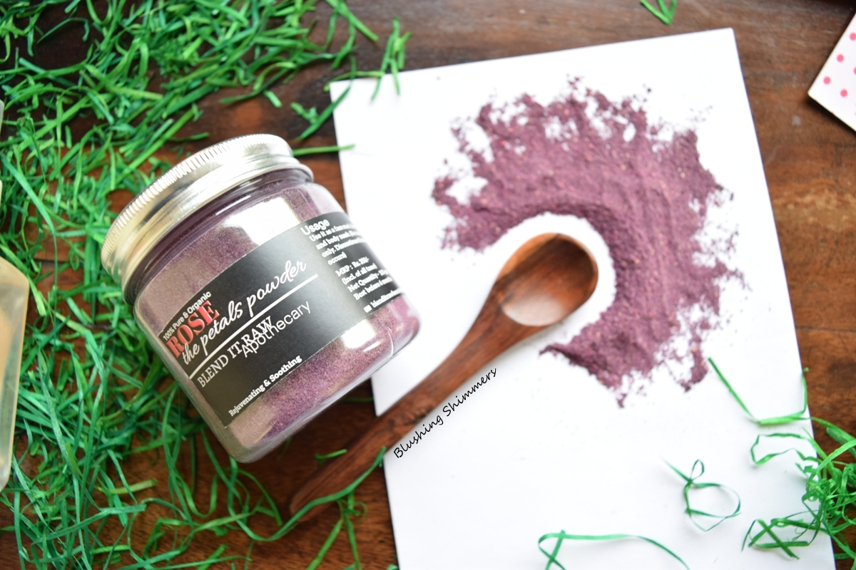 Blend It Raw Rose Petals Powder