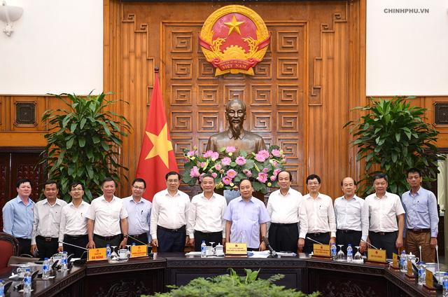 Thủ tướng Nguyễn Xuân Phúc họp lãnh đạo Đà Nẵng