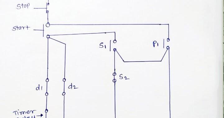 What Is Star Delta Starter Working Principle Power Wiring