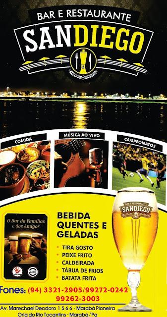 BAR E RESTAURANTE SANDIEGO -- ORLA DO RIO TOCANTINS -- MARABÁ/PA - VEJA AS FOTOS