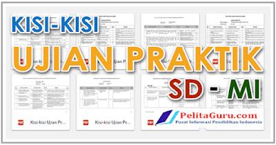 Download Kisi-Kisi Ujian Praktek SD/MI 2018 Lengkap Format PDF