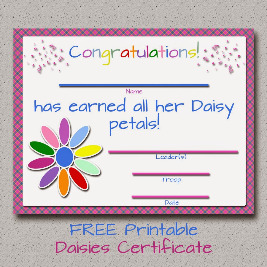 Printable girl scout award certificates just b cause for Girl scout award certificate templates