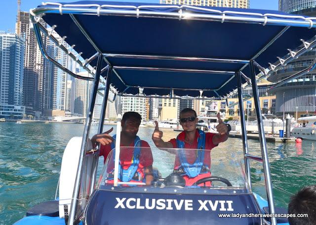 xclusive boat tour Dubai