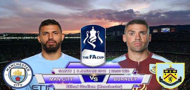 BOLA 365 - Prediksi Manchester City vs Burnley 6 Januari 2018