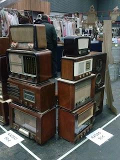Radios almoneda del desembalaje de Bilbao