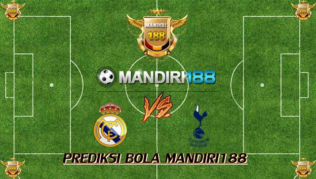 AGEN BOLA - Prediksi Real Madrid vs Tottenham Hotspur 18 Oktober 2017