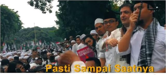 iman, ahmad dhani,#spirit212, aksi damai, aksi bela islam, habib rizieq