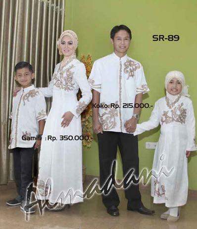 20 Model Baju Muslim Pasangan Keluarga Modern Terbaru