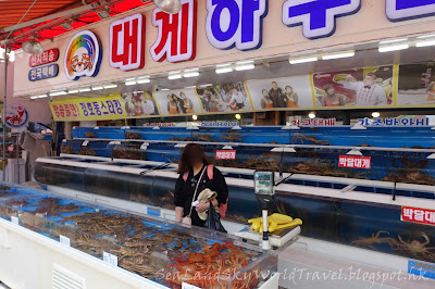 釜山機張蟹, 雪蟹小屋