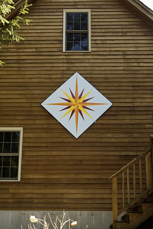 Barn Quilts by Dave: Barn quilts by the lake