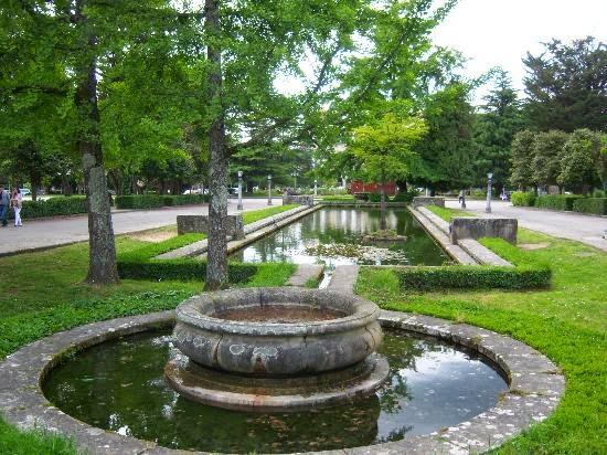 Alameda Park in Santiago de Compostela