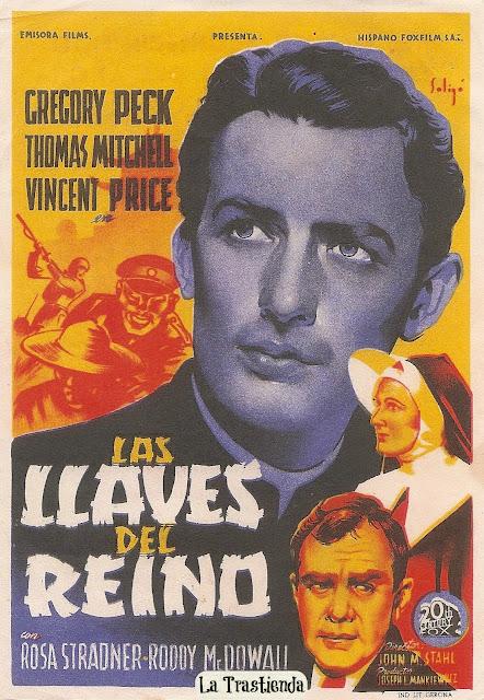 Programa de Cine - Las Llaves del Reino - Gregory Peck - Thomas Mitchell