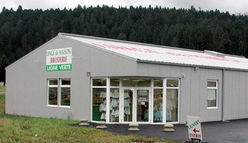 le magasin d usine la ligne verte gerdamer les. Black Bedroom Furniture Sets. Home Design Ideas