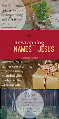 WIN a copy of this wonderful Advent devotional for families! Perfect for the Christmas season to get to know Jesus better as we prepare our hearts to celebrate His birth! #giveaway #unwrappingJesus