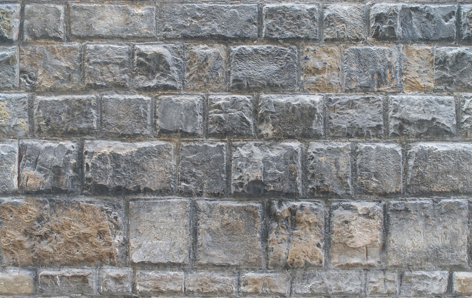 Seamless Texture With: Seamless Medieval Stone Wall Texture With Maps