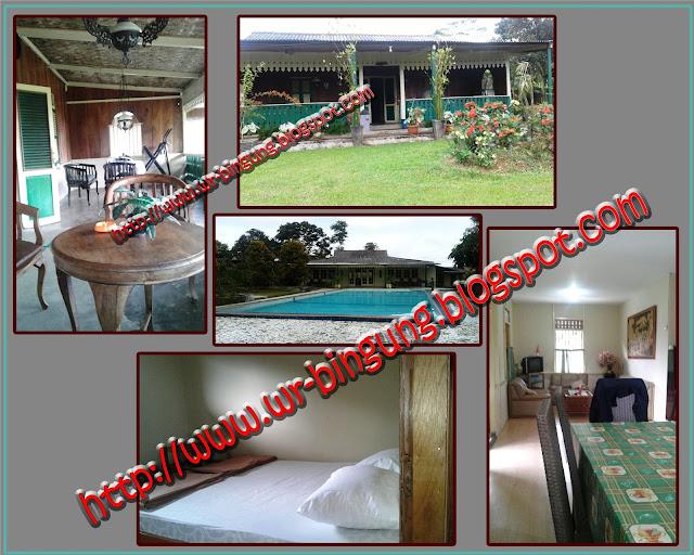 Villa Betawi di Gunung Bunder