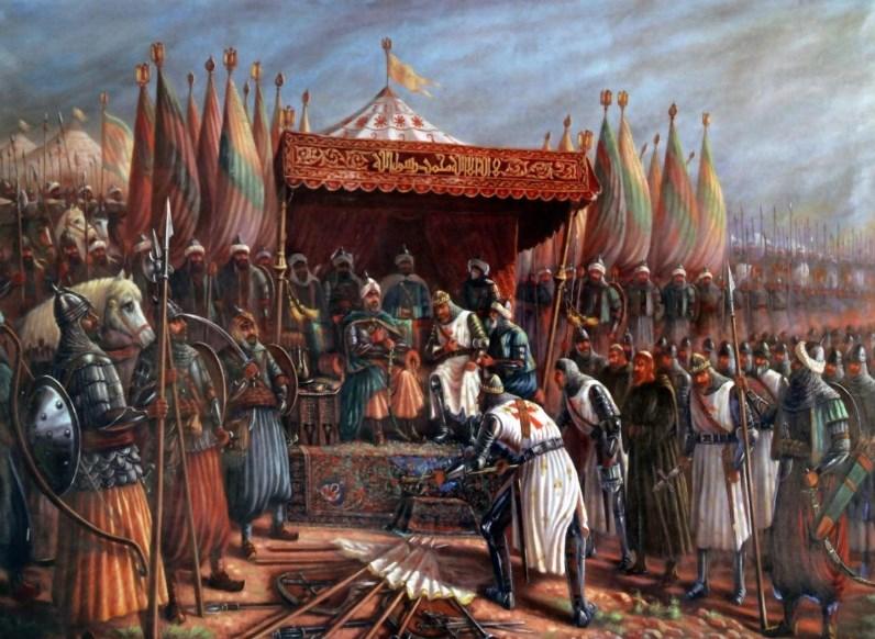 keadaan perang salib dan Salahuddin al Ayyubi