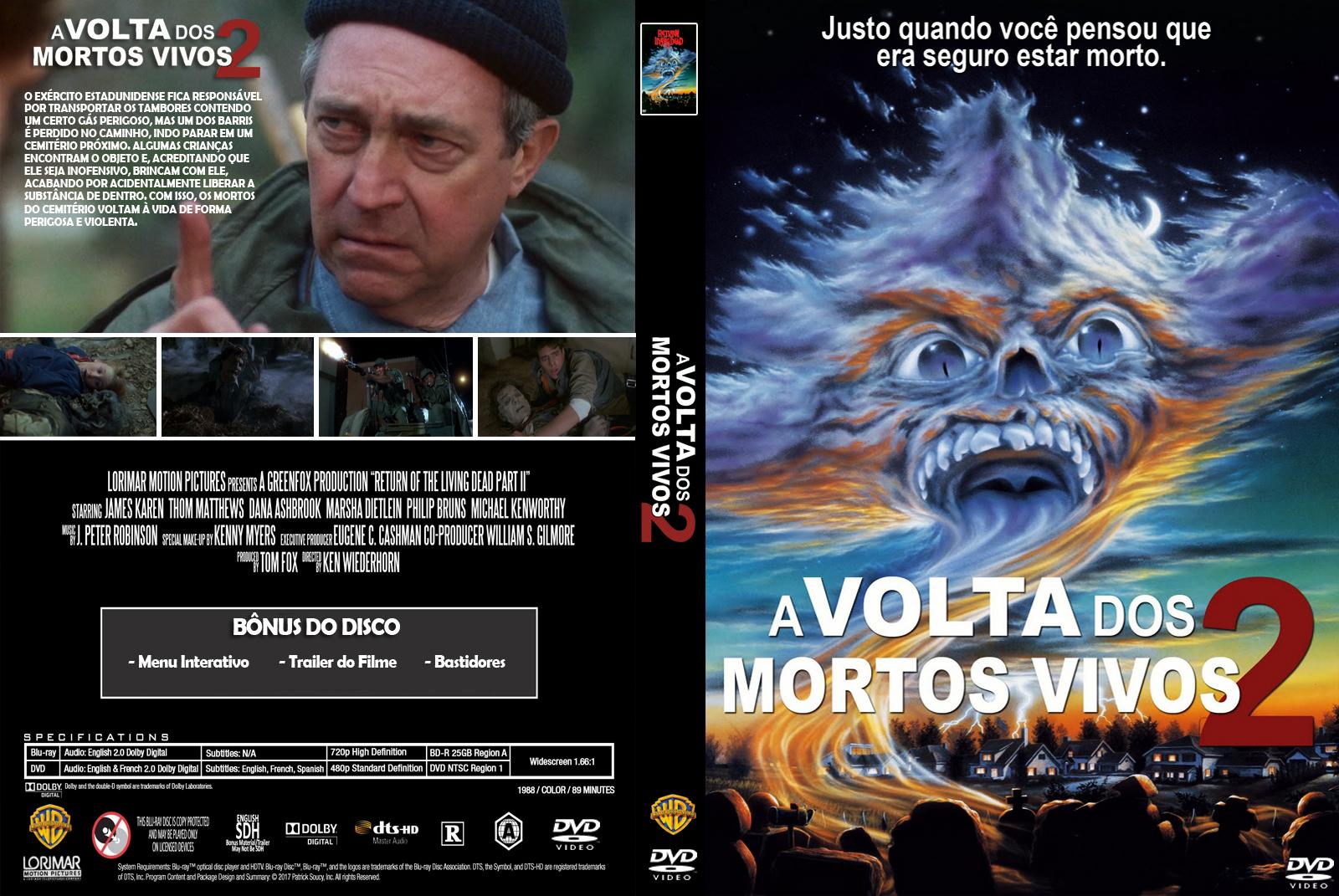 Filme Mortos Vivos inside a volta dos mortos vivos 2 | gigante das capas