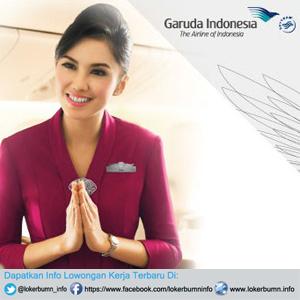 Lowongan Kerja Pramugari Reguler Garuda Indonesia lulusan SMA