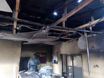 ipob burn down police station in aba