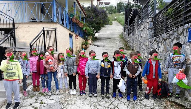 Αναβίωσαν το έθιμο με τα κάλαντα του Λαζάρου οι μικροί μαθητές του 6ου Νηπιαγωγείου Ναυπλίου