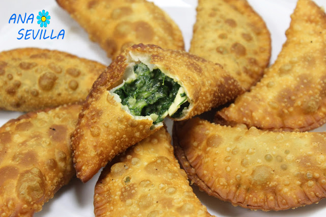 Empanadillas de espinacas Thermomix