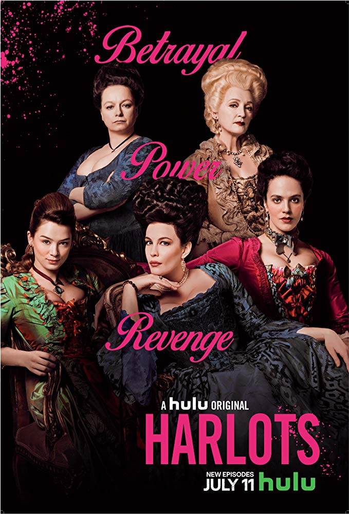 HOLLYWOOD SPY: 'HARLOTS' SEASON 2 TRAILER AND POSTER ARE HERE WITH