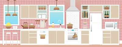 model dan harga kitchen set terbaru