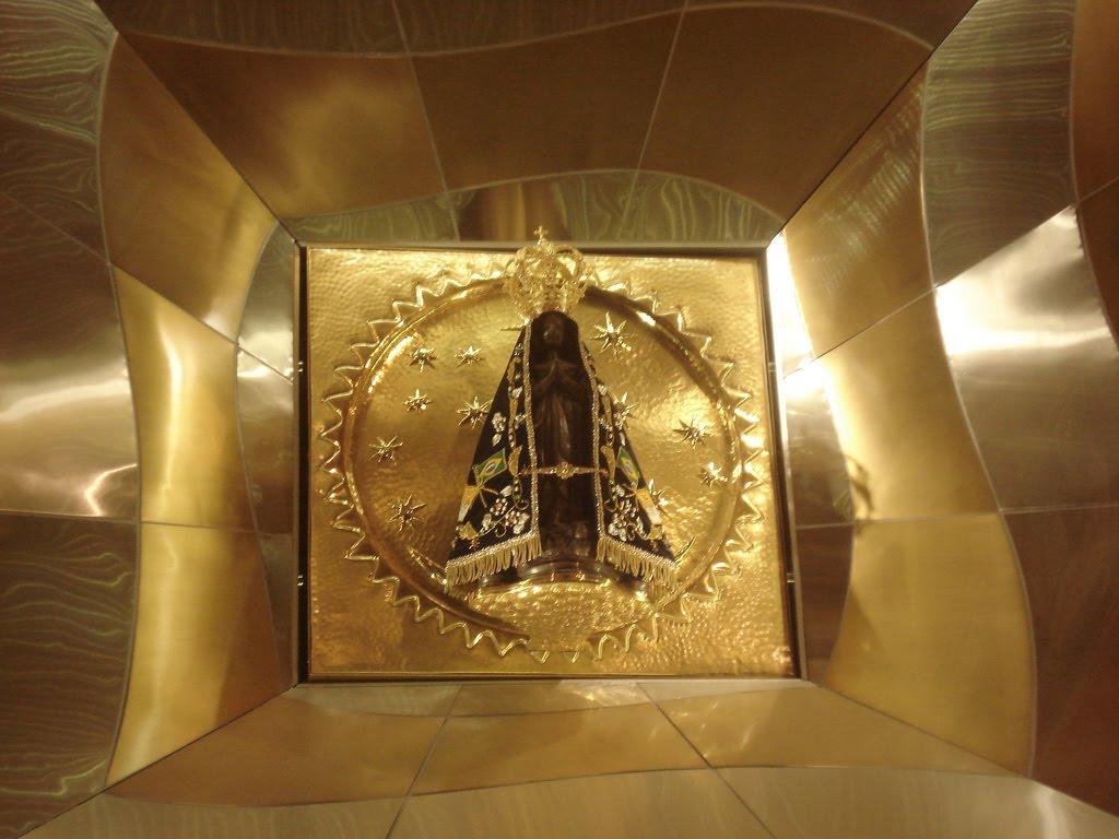 File Frente Da Basílica De Nossa Senhora Aparecida: Mosaico: Outubro 2011