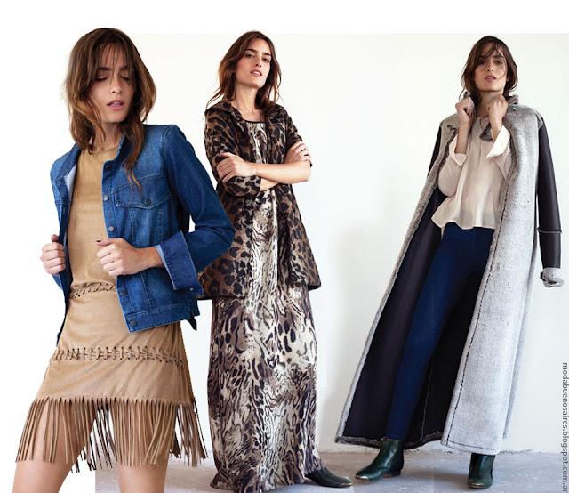 Moda 2016. Pura Pampa looks de moda invierno 2016. Ropa de moda mujer invierno 2016. Moda invierno 2016.