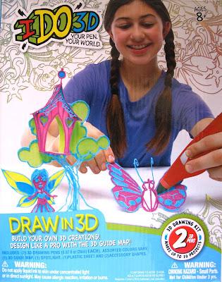 Box of an I DO 3D pen set.