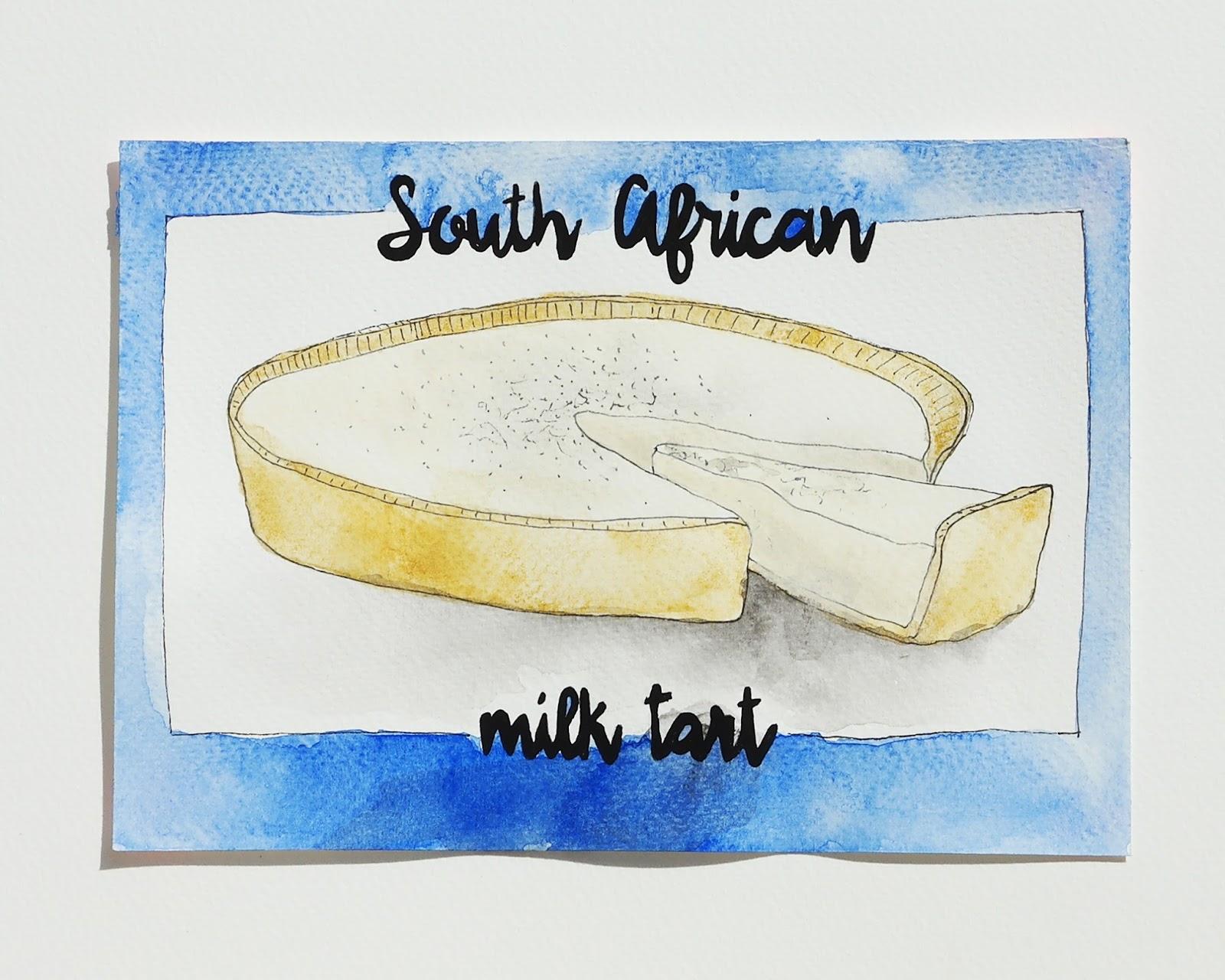 Based In Berlin Not My Ouma S Milk Tart